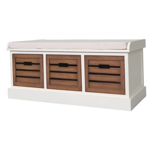 Maia Wood Storage Bench