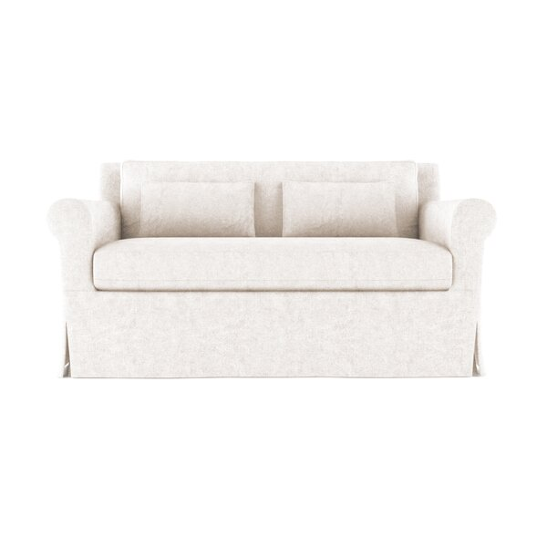 Autberry Leather Sofa by Canora Grey