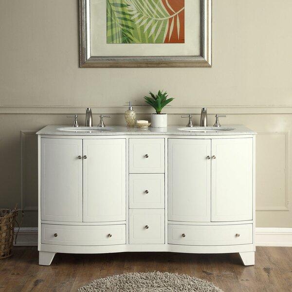 Vivaan 60 Double Bathroom Vanity Set by Darby Home Co