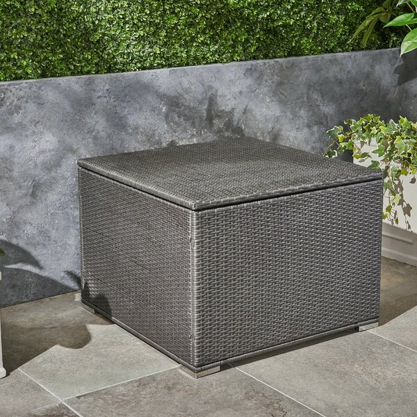 Cabral Outdoor Storage Ottoman by Sol 72 Outdoor