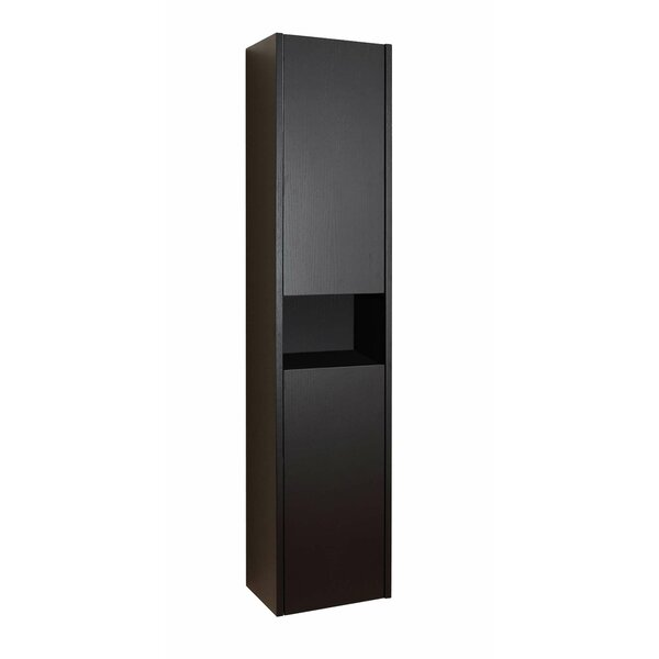 Delmore 11.8 W x 55.1 H Wall Mounted Cabinet by Virtu USA