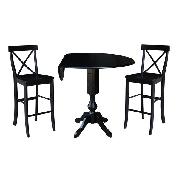 Boyland 3 Piece Pub Table Set by Darby Home Co