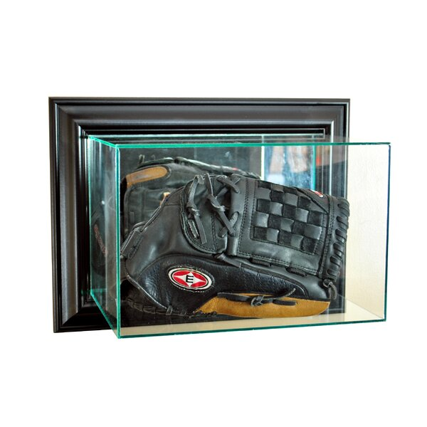 Wall Mounted Glove Display Case by Perfect Cases and Frames