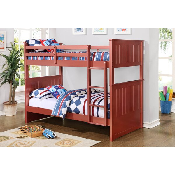Rauscher Twin Over Twin Bunk Bed by Harriet Bee