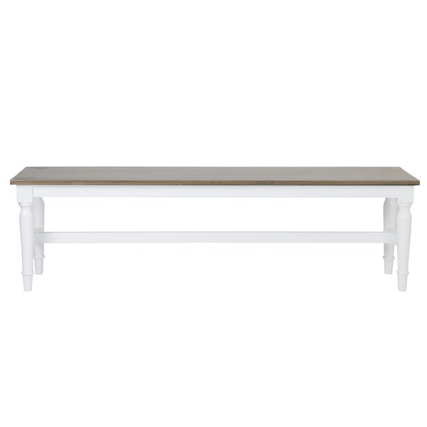 Vitiello Wood Bench by Highland Dunes