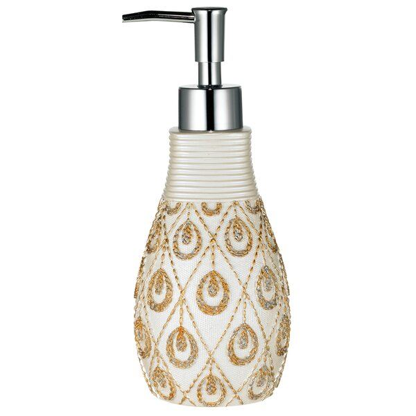 Seraphina Bath Accessory Lotion Dispenser by Sweet Home Collection