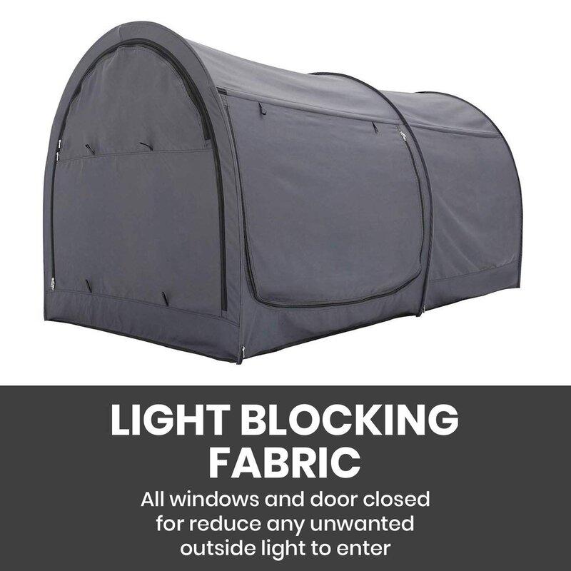 Portable Waterproof 90 V//UPF Pop Up Beach Tent Sun Shelter With Zipper Curtain