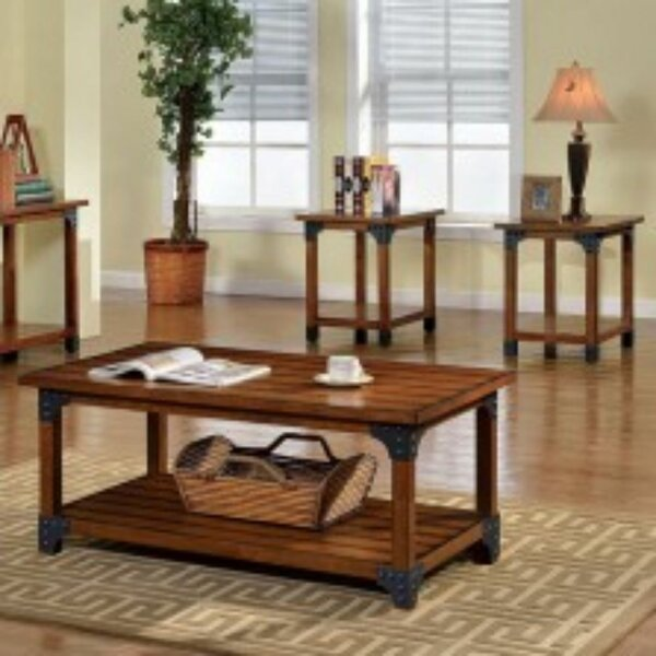 Raelynn 3 Piece Coffee Table Set (Set of 2) by Loon Peak