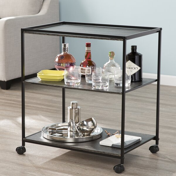 Nicolle Bar Cart By Union Rustic Purchase