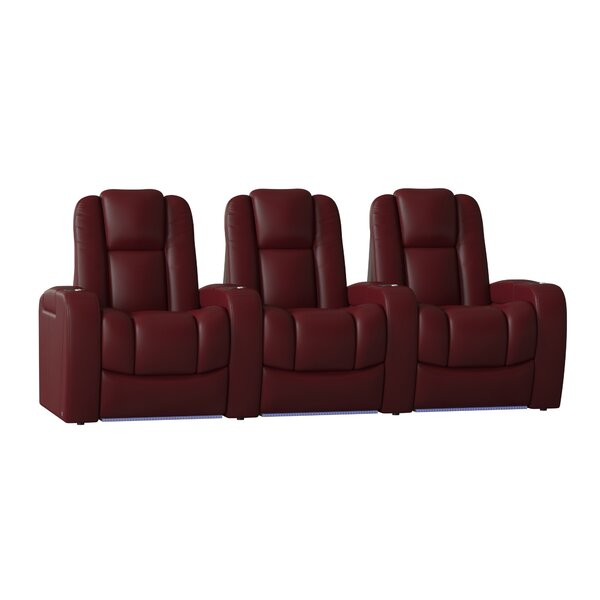 Grand HR Series Home Theater Row Seating (Row Of 3) By Red Barrel Studio