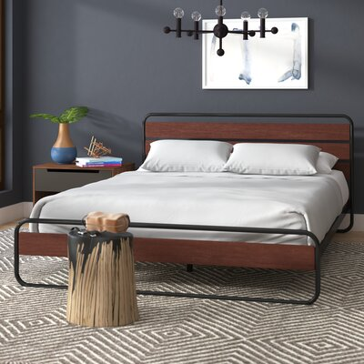 Wood Amp Metal Beds You Ll Love Wayfair