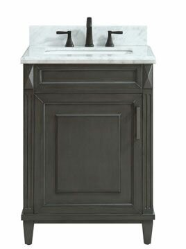 Potvin Marble Top 25 Single Bathroom Vanity Set by Gracie Oaks