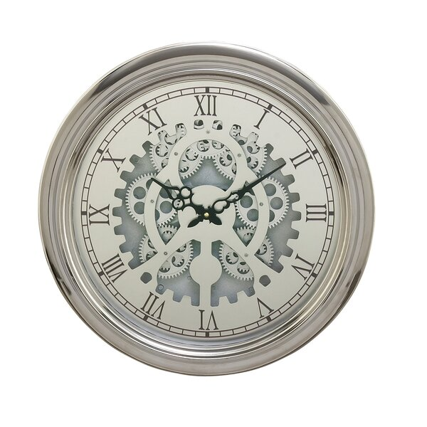 Metal 19 Wall Clock by Cole & Grey