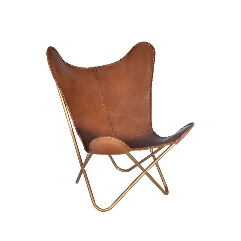 Ordinaire Justa Leather Lounge Chair