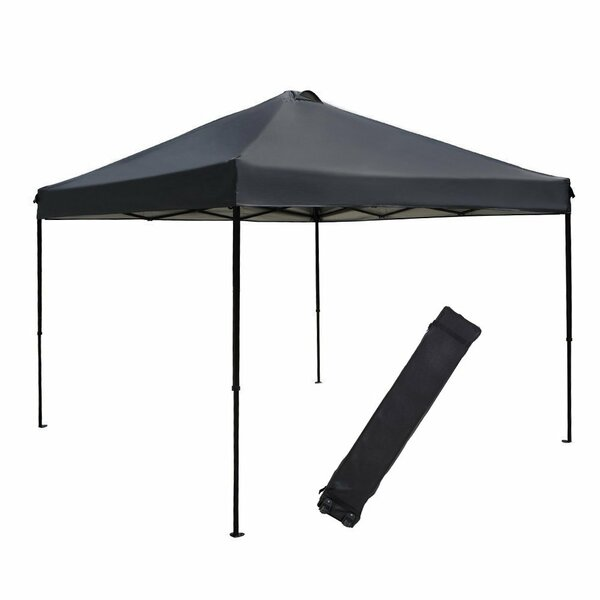 10 Ft. W x 10 Ft. D Metal Pop-Up Canopy by Abba Patio