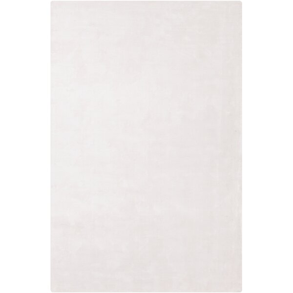 Mabel Hand Woven Wool White Area Rug by Red Barrel Studio