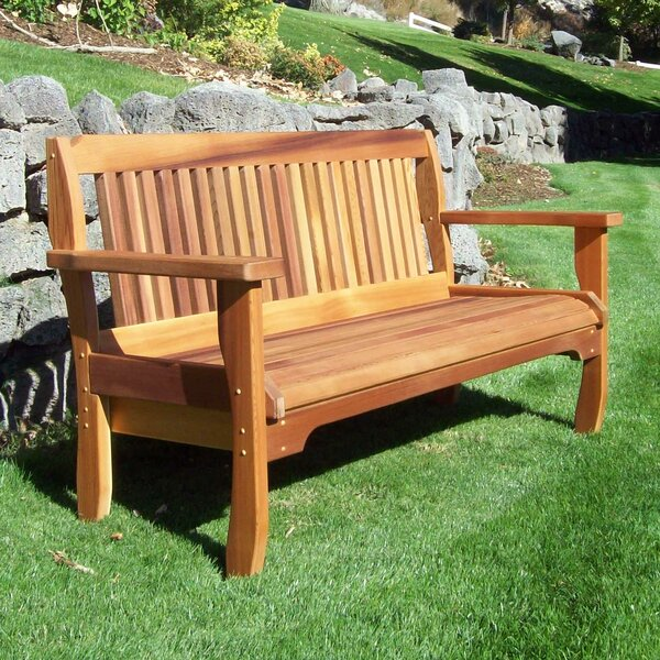 Carmelita Garden Bench By Highland Dunes
