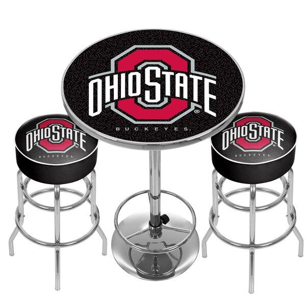 NCAA Game Room Combo Pub Table by Trademark Global Trademark Global