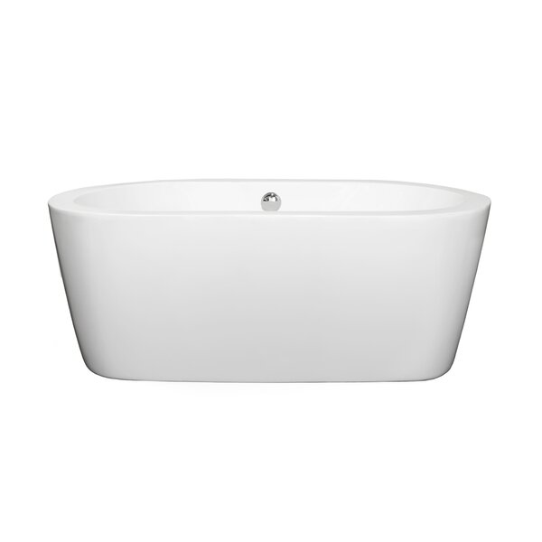 Mermaid 60 inches Soaking Tub by Wyndham Collection