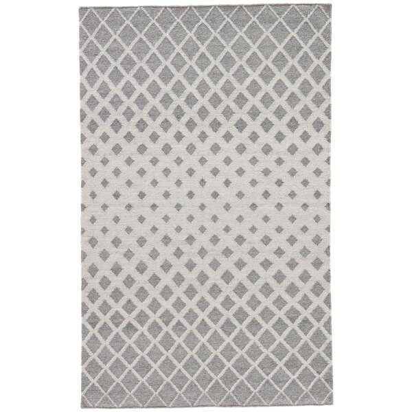 Heinz Gray Indoor/Outdoor Area Rug by Wrought Studio