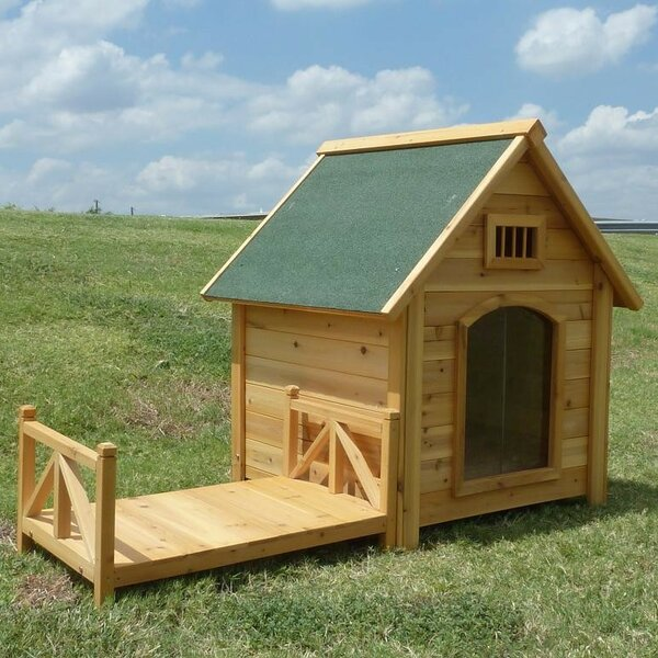 Baron K-9 Kastle Dog House by Tucker Murphy Pet
