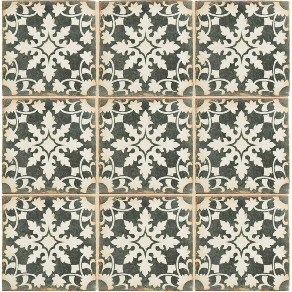 Arquivo 4.88 x 4.88 Ceramic Field Tile in Grey by