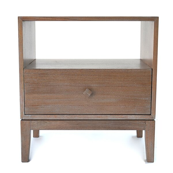 Downes 1 Drawer Nightstand by Bungalow Rose