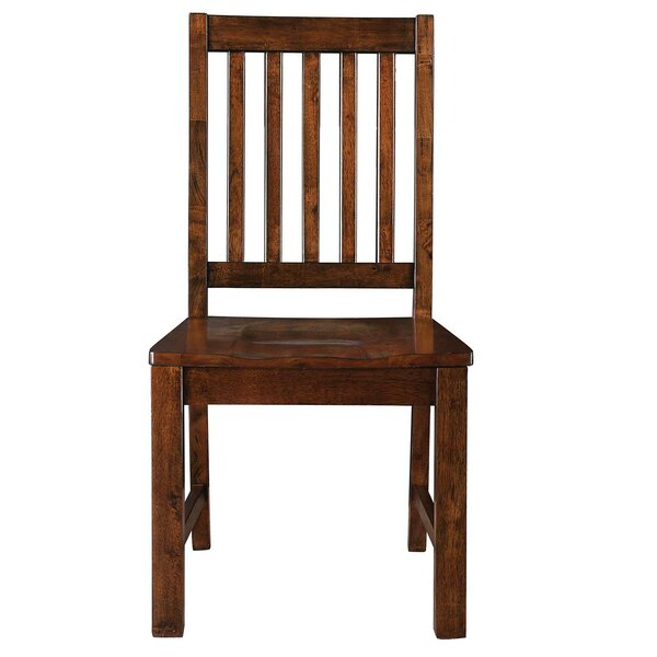 Nashoba Solid Wood Dining Chair by Loon Peak