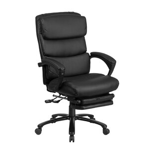 Charlenne Executive Reclining Swivel High Back Leather Desk Chair