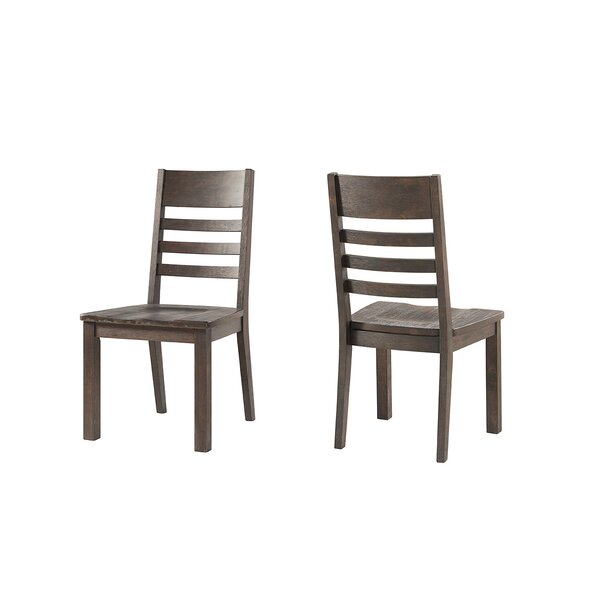 Benat Solid Wood Dining Chair (Set of 2) by Gracie Oaks