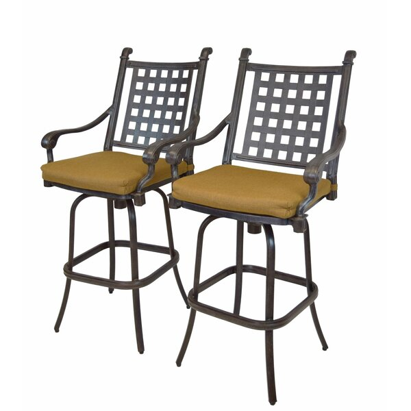 Arness 16 Piece Bar Height Dining Set by Darby Home Co