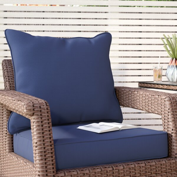 Indoor/Outdoor Lounge Cushion by Brayden Studio