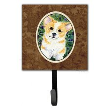 Corgi Leash Holder and Key Hook by Caroline's Treasures