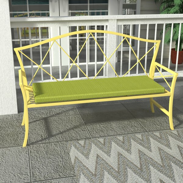 Tadley Scott Indoor/Outdoor Bench Cushion by Charlton Home