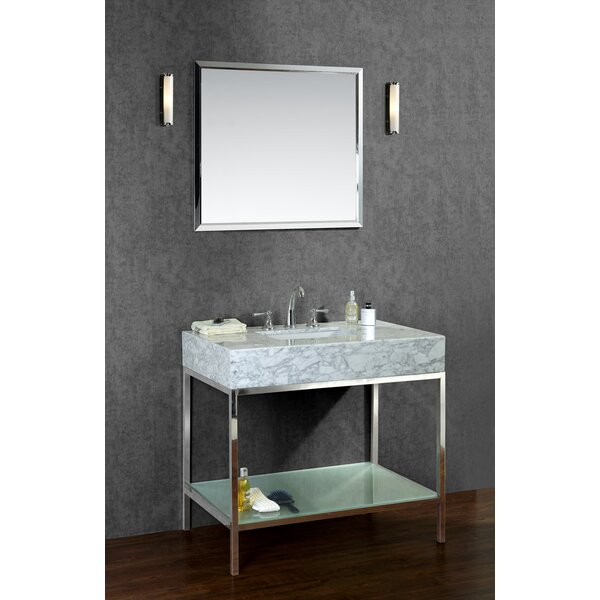 Seddon 48 Single Bathroom Vanity Set with Mirror by Brayden Studio