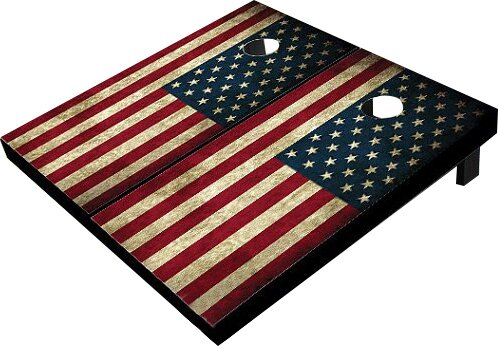 American Flag Cornhole Board (Set of 2) by All Ame