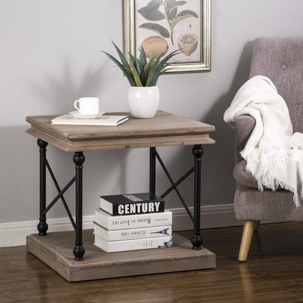 Binkley Floor Shelf End Table By Gracie Oaks