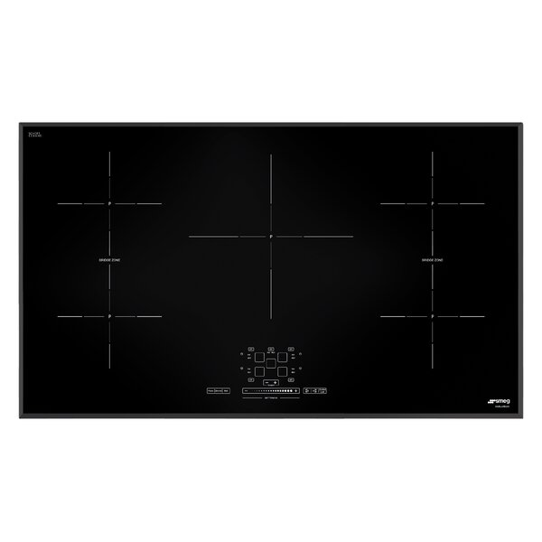 36 Induction Cooktop with 5 Burners and Ultra Low
