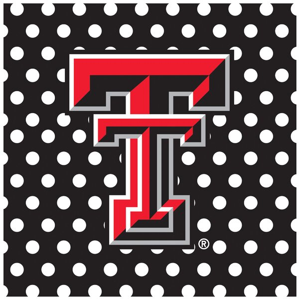 Texas Tech University Square Occasions Trivet by Thirstystone