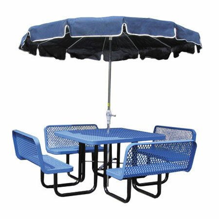 Modena Extendable Metal Camping Table by Leisure Craft Leisure Craft