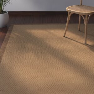 Goldenrod Beige/Brown Indoor/Outdoor Area Rug