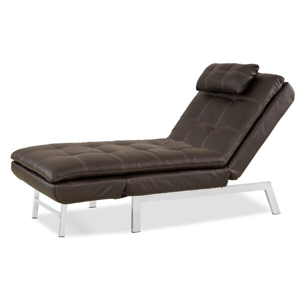 Vienna Convertible Chaise Lounge by Serta Futons
