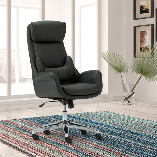 Newby Ergonomic Executive Chair by Ivy Bronx