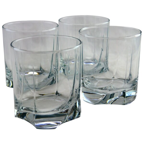 Alfredo 12.75 oz. Glass Cocktail Glass (Set of 4) by Charlton Home