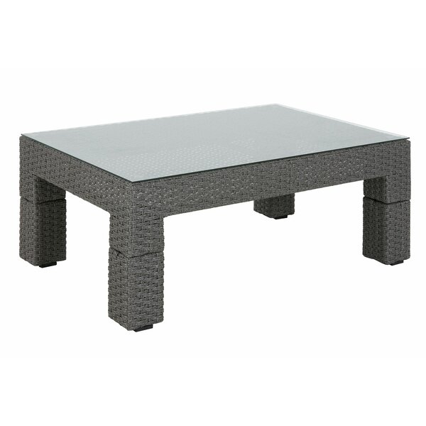 Elamin Outdoor Coffee Table by Highland Dunes Highland Dunes
