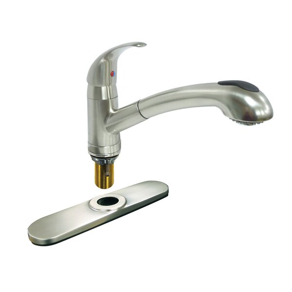 Pull Out Single Handle Kitchen Faucet by Dominion Faucets