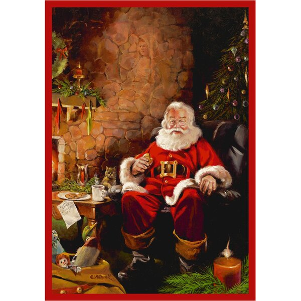 RJ McDonald Christmas Party Area Rug by Milliken