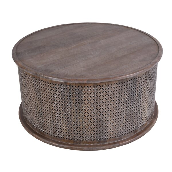 Carver Coffee Table - New White Wash By Ivy Bronx