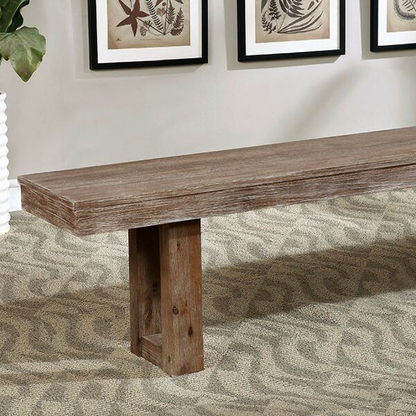 Tawanna Wood Dining Bench by Gracie Oaks