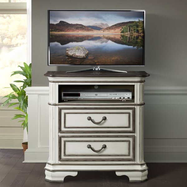 Newsom 2 Drawer Media Chest by House of Hampton